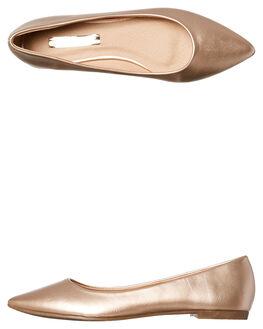 ROSE GOLD WOMENS FOOTWEAR BILLINI FLATS - F354RSGLD