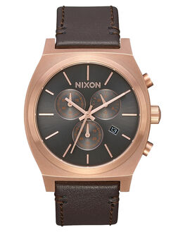 ROSE GOLD GUNMETAL MENS ACCESSORIES NIXON WATCHES - A1164-2001