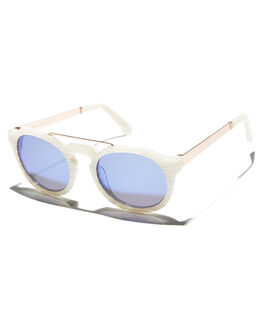 MOTHER OF PEARL WOMENS ACCESSORIES SUNDAY SOMEWHERE SUNGLASSES - SUN010-BLU-SUN