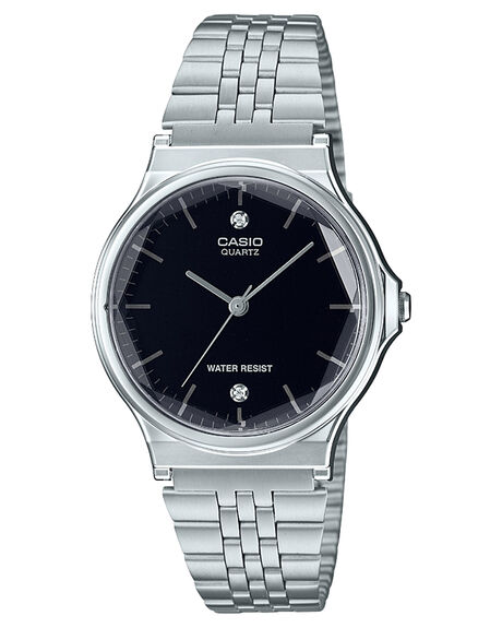 CHROME PLATED RESIN MENS ACCESSORIES CASIO WATCHES - MQ1000D-1A2CHR