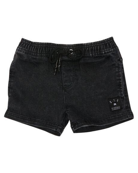 BLACK KIDS BOYS ST GOLIATH SHORTS - 2821019BLK