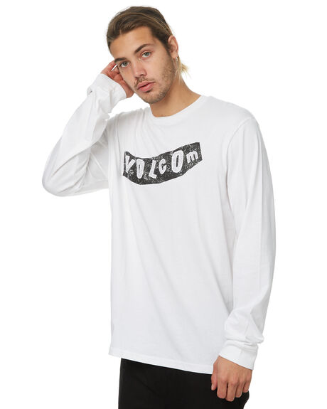WHITE MENS CLOTHING VOLCOM TEES - A36317G4WHT