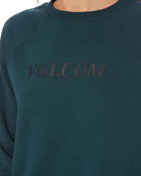 EMERALD GREEN WOMENS CLOTHING VOLCOM JUMPERS - B4612075EMG