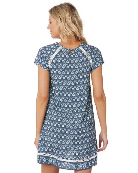 SLATE BLUE OUTLET WOMENS RIP CURL DRESSES - GDRIF11115