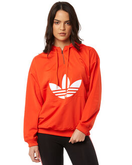 BOLD ORANGE WOMENS CLOTHING ADIDAS ORIGINALS JUMPERS - CY3550ORNG