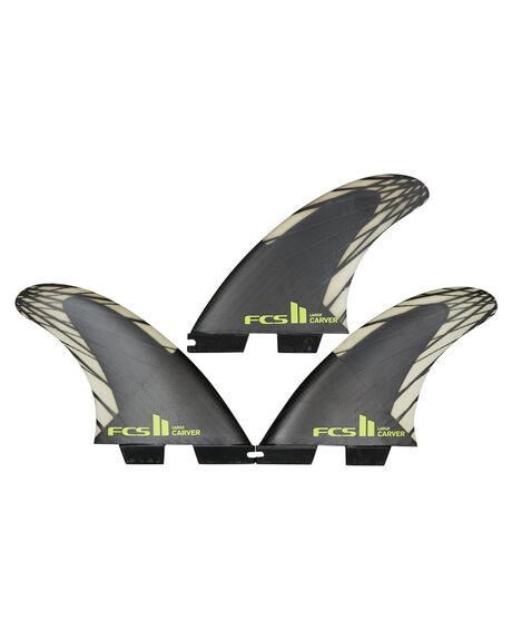 BLACK ACID BOARDSPORTS SURF FCS FINS - FCAR-CC03-TS-RBLKAC