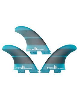 TEAL GRADIENT BOARDSPORTS SURF FCS FINS - FPER-NG03-TS-RTEAGR