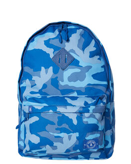 WOODLAND CAMO BLUE MENS ACCESSORIES PARKLAND BAGS + BACKPACKS - 20002-00266-OSWOOD