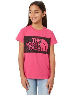 MR PINK KIDS GIRLS THE NORTH FACE TOPS - NF0A3NPJWUGPNK