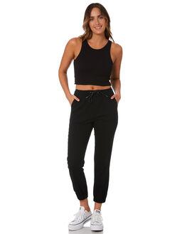 BLACK WOMENS CLOTHING RUSTY PANTS - PAL1160BLK