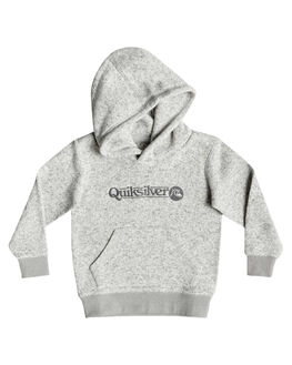 LIGHT GREY HEATHER KIDS BOYS QUIKSILVER JUMPERS + JACKETS - EQKFT03282-SJSH
