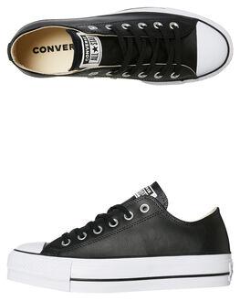 BLACK WOMENS FOOTWEAR CONVERSE SNEAKERS - 561681BLK