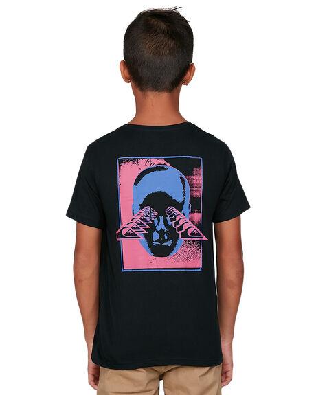 BLACK KIDS BOYS QUIKSILVER TOPS - EQBZT04132-KVJ0