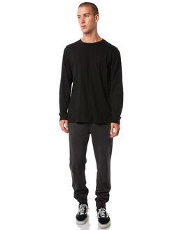WASHED BLACK MENS CLOTHING RIP CURL PANTS - CPADP1WSBLK