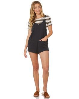 OFF BLACK WOMENS CLOTHING BILLABONG PLAYSUITS + OVERALLS - 6595508OFB
