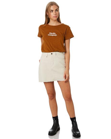 BRONZE WOMENS CLOTHING THRILLS TEES - WTR9-106CBRZ