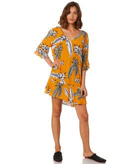 LEAF PRINT WOMENS CLOTHING MLM LABEL DRESSES - MLM141P-LEA