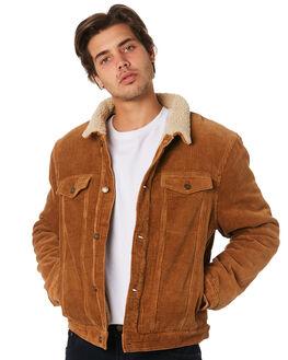 TAN MENS CLOTHING ROLLAS JACKETS - 15421B657
