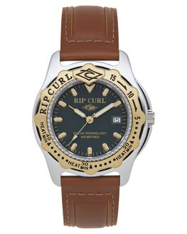 GOLD MENS ACCESSORIES RIP CURL WATCHES - A32030146