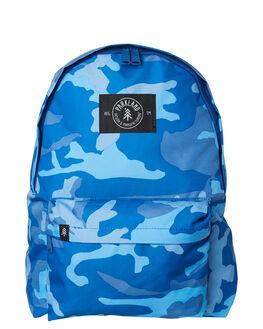 WOODLAND CAMO BLUE KIDS BOYS PARKLAND BAGS + BACKPACKS - 20032-00266