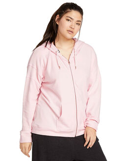 BLUSH PINK WOMENS CLOTHING VOLCOM JUMPERS - CB3111802BUP