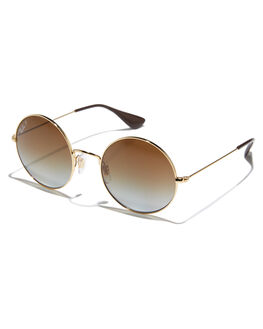 GOLD WOMENS ACCESSORIES RAY-BAN SUNGLASSES - 0RB3592GLD