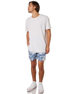 BLUE MENS CLOTHING OKANUI BOARDSHORTS - OKCM1805BLU
