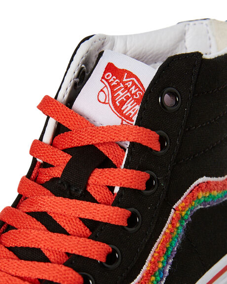 RAINBOW KIDS GIRLS VANS SNEAKERS - VN0A4BUXWKTRAIN