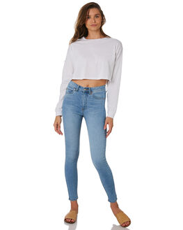 WHITE WOMENS CLOTHING SWELL TEES - S8189100WHITE