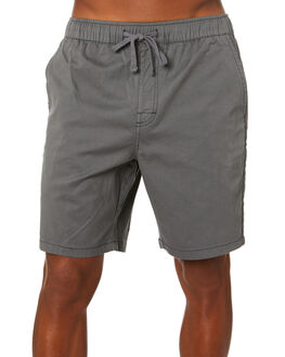 GRAPHITE MENS CLOTHING KATIN SHORTS - WSPAT06GRAPH