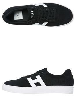 BLACK MENS FOOTWEAR HUF SNEAKERS - CP00033-BLACK