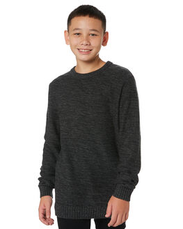 BLACK MARLE KIDS BOYS RUSTY JUMPERS + JACKETS - CKB0119BKM