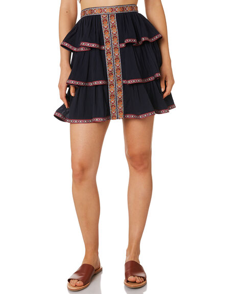 MIDNIGHT WOMENS CLOTHING TIGERLILY SKIRTS - T393270MID