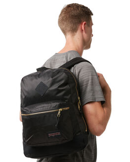 BLACK GOLD MENS ACCESSORIES JANSPORT BAGS + BACKPACKS - JS0A2SDRJS0UQ