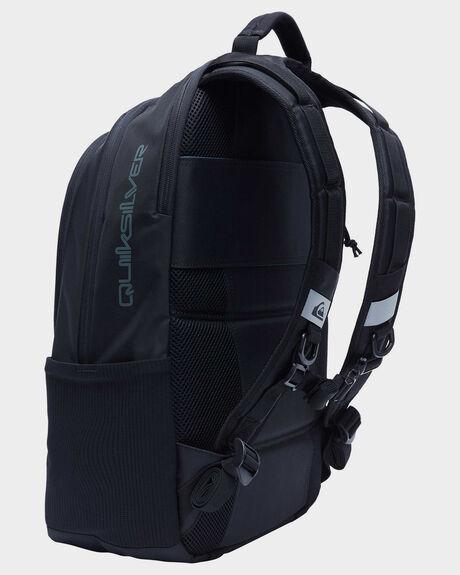 BLACK MENS ACCESSORIES QUIKSILVER BAGS + BACKPACKS - AQYBP03097-KVJ0