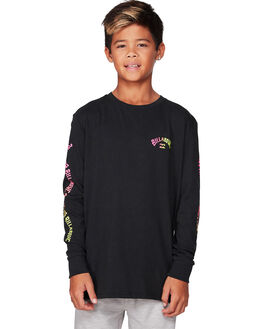 BLACK KIDS BOYS BILLABONG TOPS - BB-8507045-BLK