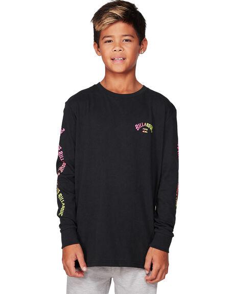 BLACK KIDS BOYS BILLABONG TOPS - BB-8507045-BLK