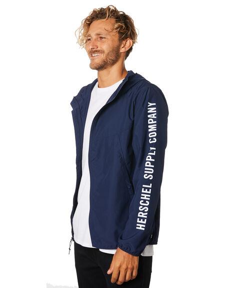 PEACOAT SLEEVE PRINT MENS CLOTHING HERSCHEL SUPPLY CO JACKETS - 15001-00137PEACT