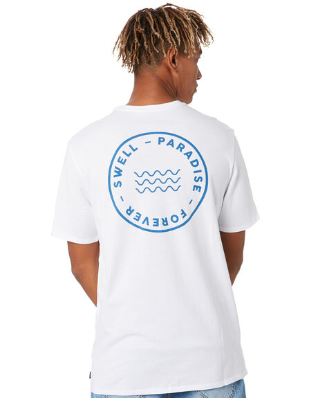 WHITE MENS CLOTHING SWELL TEES - S5202004WHITE