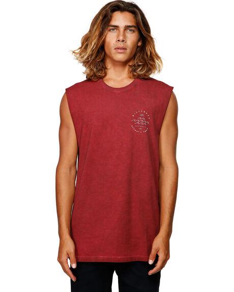 OXBLOOD MENS CLOTHING BILLABONG SINGLETS - BB-9592503-OX2
