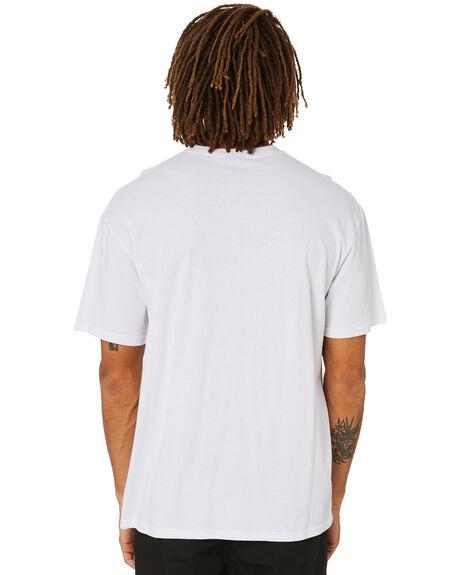 WHITE MENS CLOTHING STUSSY TEES - ST016003WHITE