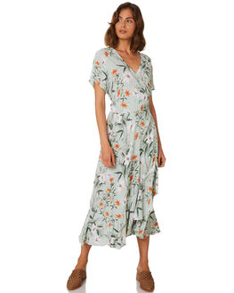PARADISE FLORAL JA WOMENS CLOTHING MLM LABEL DRESSES - MLM368F-PAR