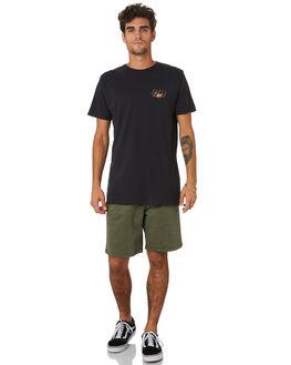 BLACK MENS CLOTHING SWELL TEES - S5202018BLACK