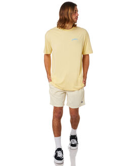 MELLOW YELLOW MENS CLOTHING STUSSY TEES - ST083007YELLW