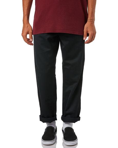 BLACK MENS CLOTHING CARHARTT PANTS - I020075-89BLK