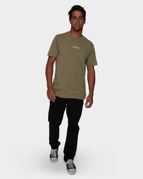 BLACK MENS CLOTHING RVCA PANTS - RV-R307280-BLK