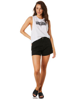 WHITE WOMENS CLOTHING HURLEY SINGLETS - CK0629-100