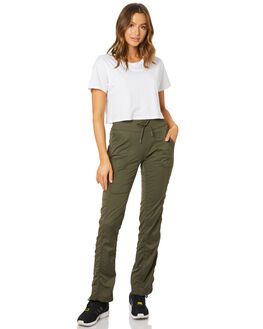 NEW TAUPE GREEN WOMENS CLOTHING THE NORTH FACE PANTS - NF0A2UOP21L