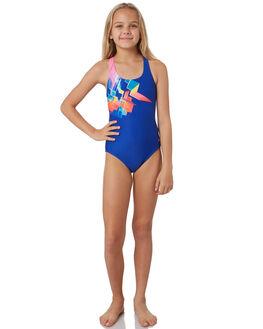 MULTI BLUE KIDS GIRLS ZOGGS SWIMWEAR - 5086201MLTBL