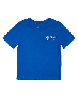ROYAL BLUE KIDS BOYS RIP CURL TOPS - OTEWA20071